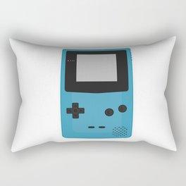 Gameboy Colour Blue Rectangular Pillow
