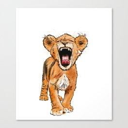 Free the Tiger in You Canvas Print