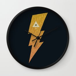 Something with lightning and stuff Wall Clock