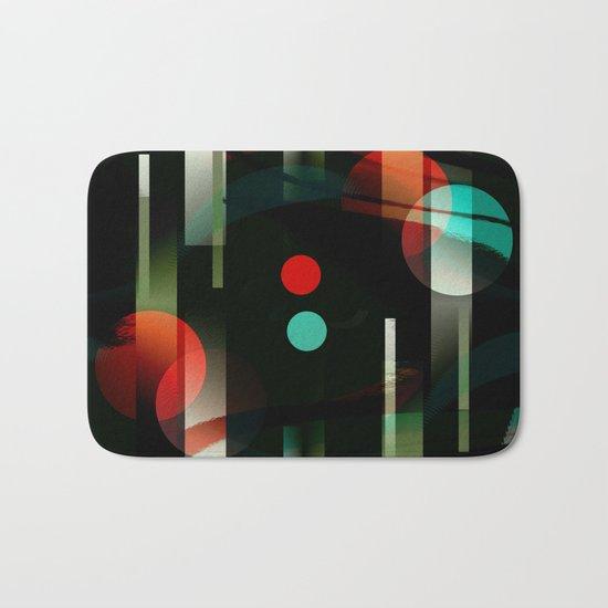 Multicolored abstract no. 62 Bath Mat