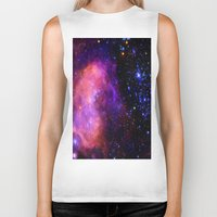 nebula Biker Tanks featuring NebUla. by 2sweet4words Designs