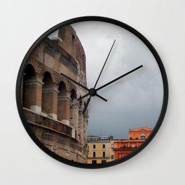 Stormy Rome Wall Clock