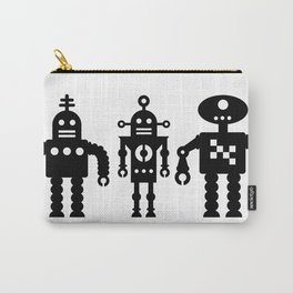Three Robots by Bruce Gray Carry-All Pouch