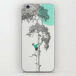 Bravery iPhone Skin