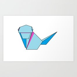 Origamonkey Art Print