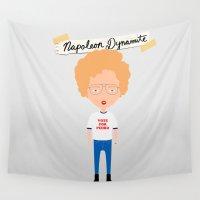napoleon Wall Tapestries featuring Napoleon Dynamite by Creo tu mundo