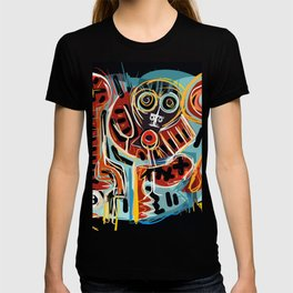 You are here with me street art graffiti T-shirt