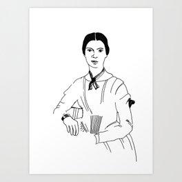 Emily Dickinson Kunstdrucke