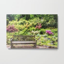 Summer Garden Metal Print
