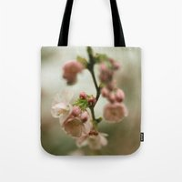 blossom Tote Bags featuring blossom by EnglishRose23