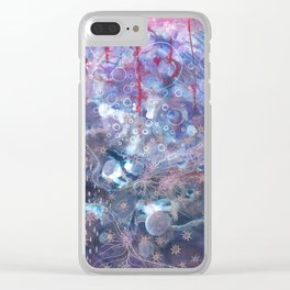 Stream of unconscious Clear iPhone Case