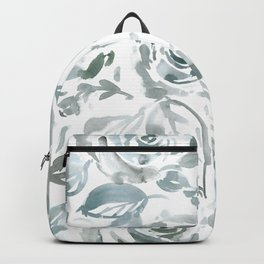 Evelyn Gray Floral Backpack