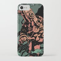 diver iPhone & iPod Cases featuring Diver by Rafael T. Pimentel