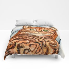 Ginger Cat Comforters