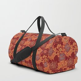 Oriental Red and Gold Duffle Bag