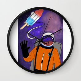 Rocket Pop Wall Clock