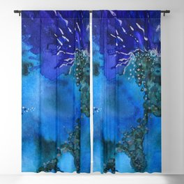 Coral play Blackout Curtain