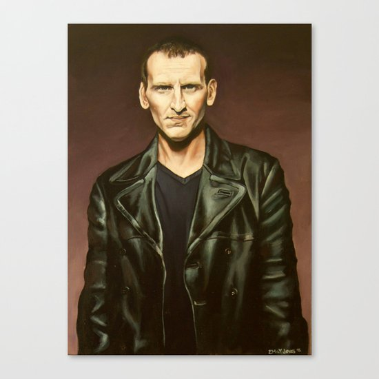 The Ninth Doctor Canvas Print