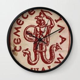 Sacred Magic Symbol by PB Wall Clock
