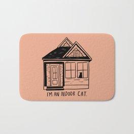 Indoor Cat (house) Bath Mat