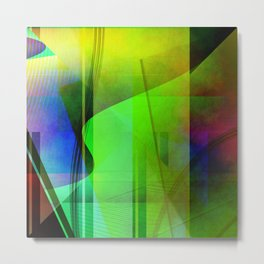 Multicolored abstract 2016 / 006 Metal Print