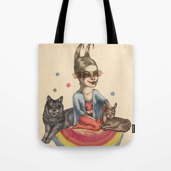 My little circus Tote Bag