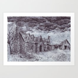 Forsaken Inn Art Print
