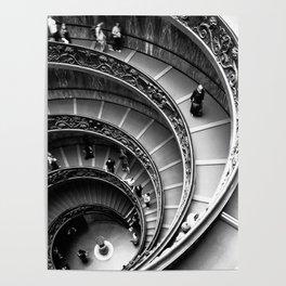 Vatican Stairway Poster