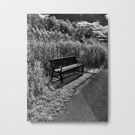Bench Metal Print
