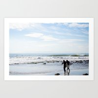 Rincon Point Art Print