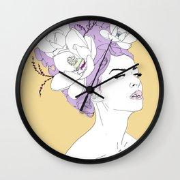 Lunar Goddess Wall Clock