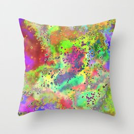Chemical X Throw Pillow