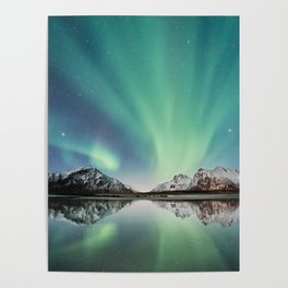 Northern Lights in Norway Poster