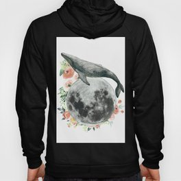 Moon Whale Hoody