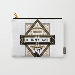 Johnny Class Vintage Man in Black 1932 - 2003 Carry-All Pouch