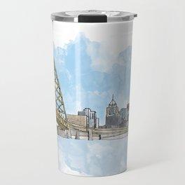 Fort Pitt Bridge Travel Mug