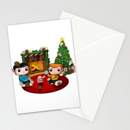 The Trouble with Christmas Stationery Cards