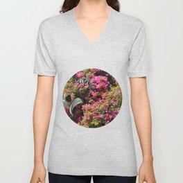 Spring Wild Flowers   Greece #society6 Unisex V-Neck