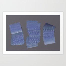 Solitaire Art Print