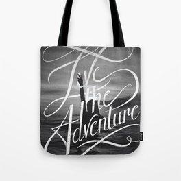 Live the Adventure Tote Bag