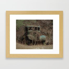 Runs good, needs work... Framed Art Print