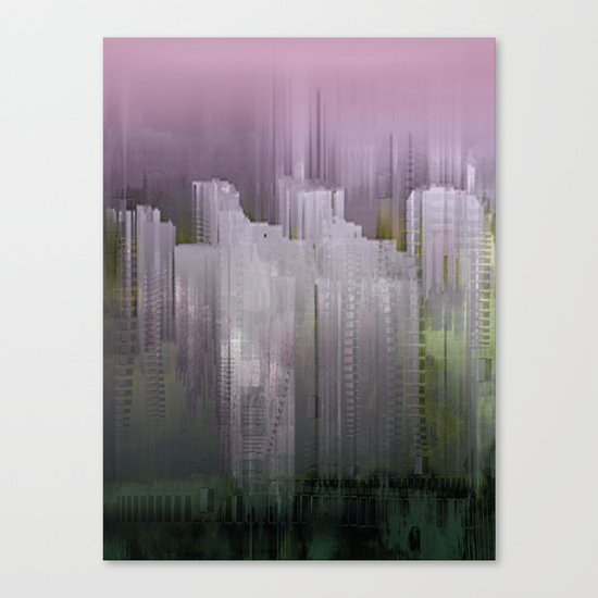 Melancholy / Floating Town / 30-11-16 Canvas Print