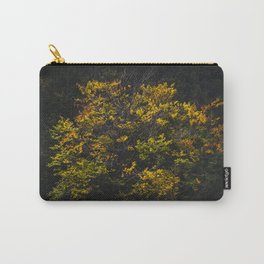 Autumn colored tree Carry-All Pouch