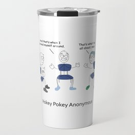 Hokey Pokey Anonymous Travel Mug
