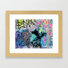 Distant Interval Framed Art Print