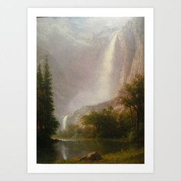 Albert Bierstadt - Yosemite Falls (1867) Art Print