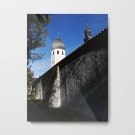 Behind Walls Metal Print