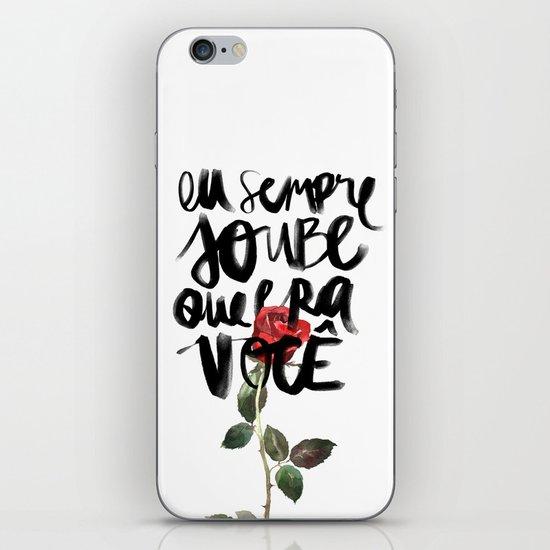Você iPhone & iPod Skin