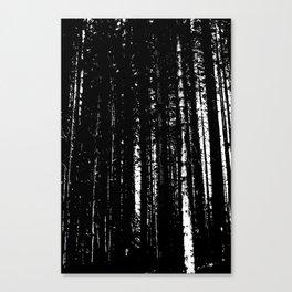 Forest Dark I Canvas Print