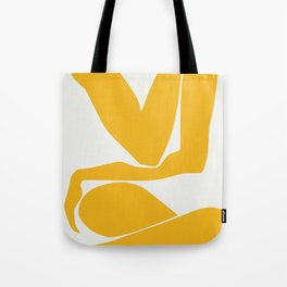 Yellow anatomy Tote Bag